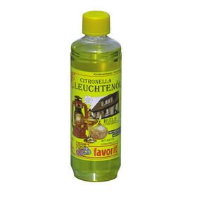 Huile à lampe Favorit à la citronnelle, 1 litre